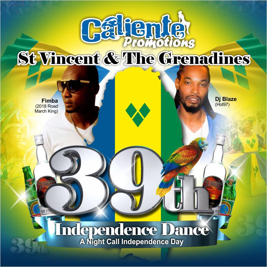 St Vincent & The Grenadines 39th Independence Dance   Soca News