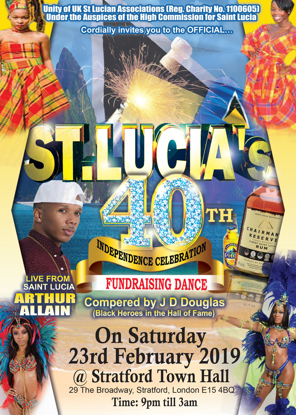 St Lucia's 40th Independence Celebration Dance | Soca News