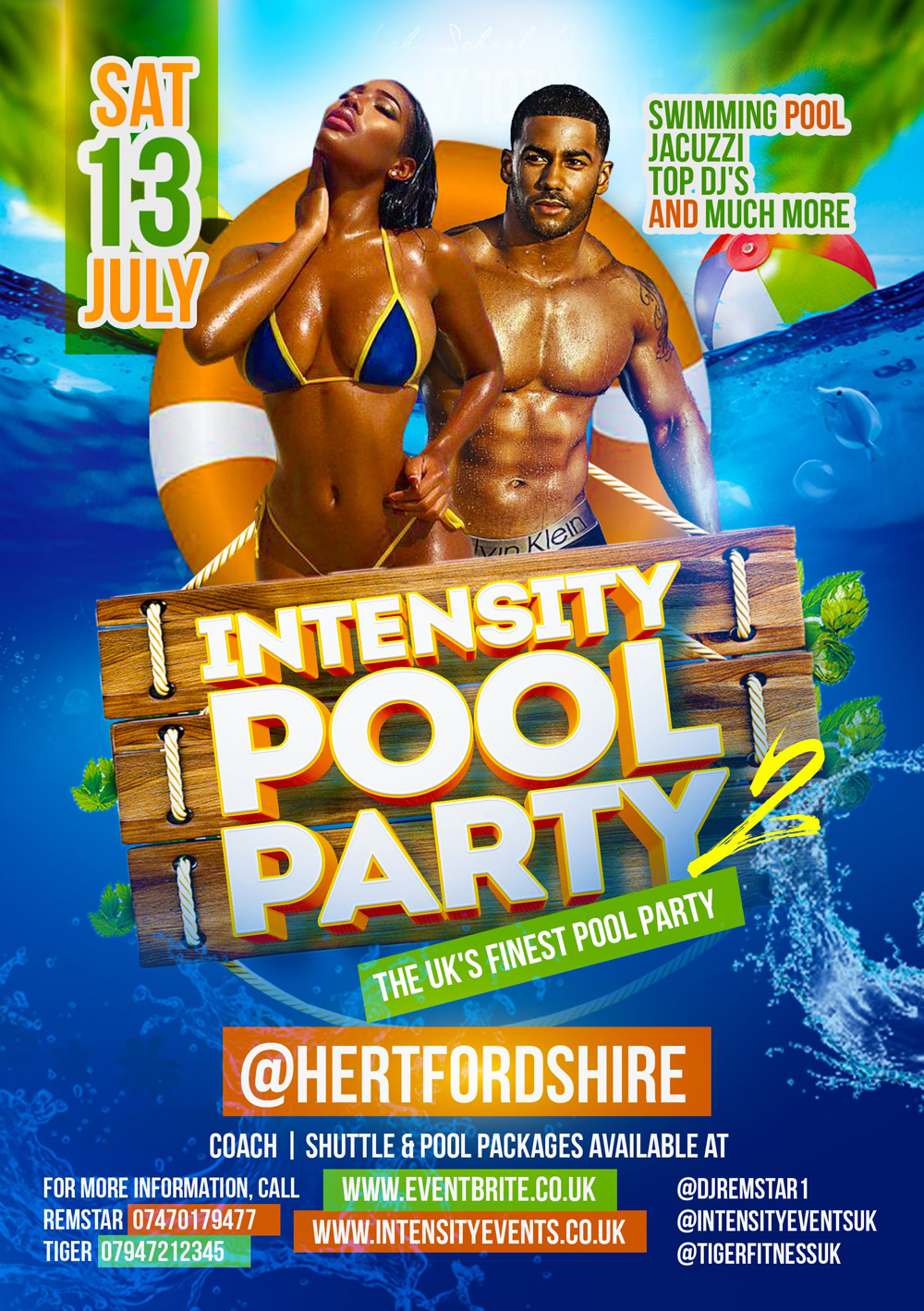 Intensity Pool Party | Soca News